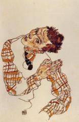 Self-Portrait-5-Egon-Schiele-oil-painting